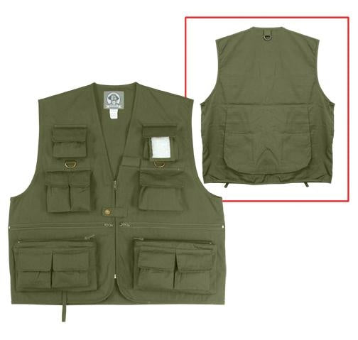 7540 Rothco Uncle Milty Travel Vest - Olive Drab
