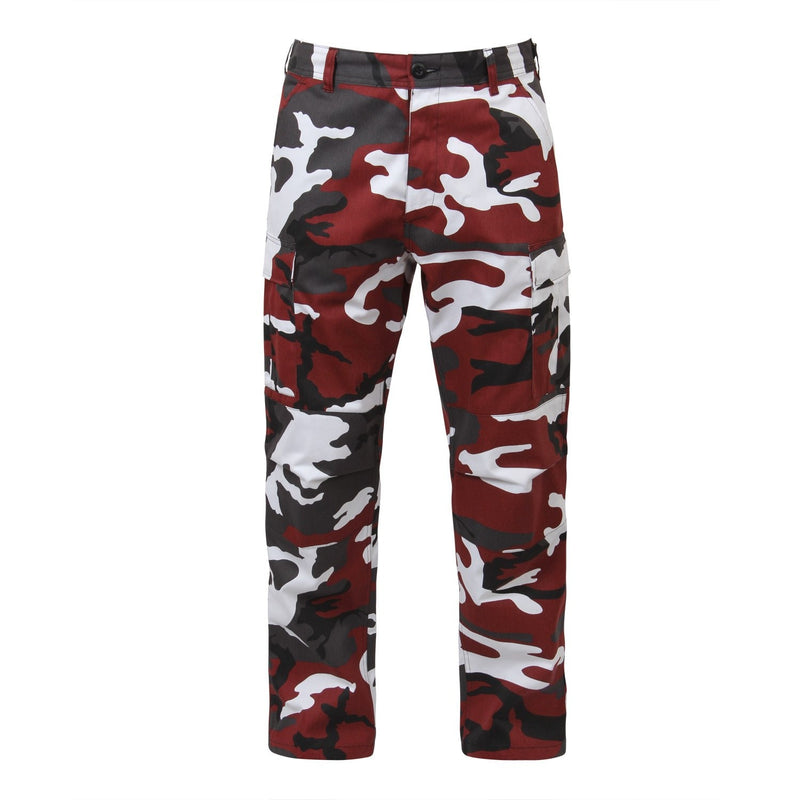 7915 Rothco Color Camo Tactical BDU Pants - Red Camo