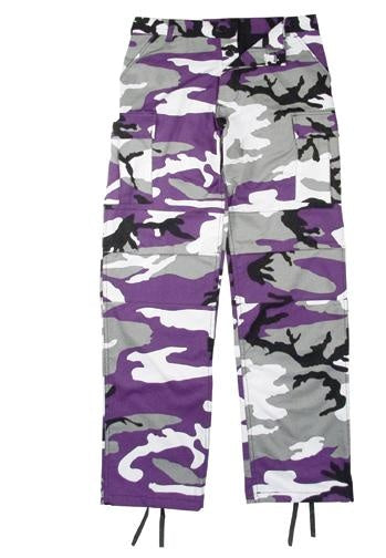 7925 Ultra Violet Camouflage Poly/Cotton BDU Pants