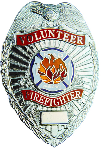 Tactical 365® Operation First Response Volunteer Firefighter Badge