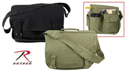 8119 Rothco Olive Drab European School Bag