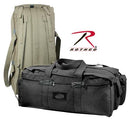 8136 Rothco Canvas Mossad Duffle Bag - Black / OD