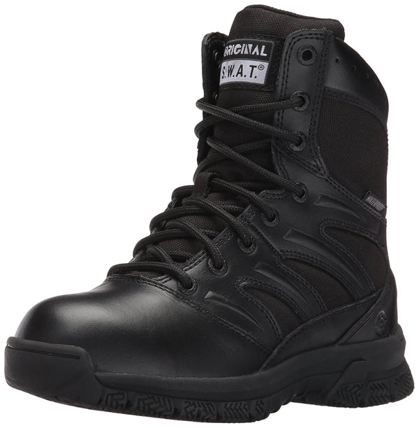 "Original S.W.A.T. Men's Force 8"" Wp Military and Tactical Boot - Black"