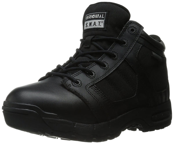 Original S.W.A.T. Women's Metro Air 5 Inch Side-Zip Military and Tactical Shoe - Black