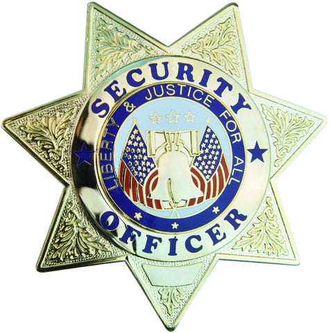 Tactical 365® Operation First Response 7 Point Star Security Officer Badge