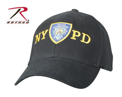 8272 Rothco Officially Licensed Nypd Adjustable Cap With Emblem
