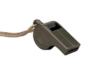 8300 Rothco G.I. Style O.D. Police Whistle