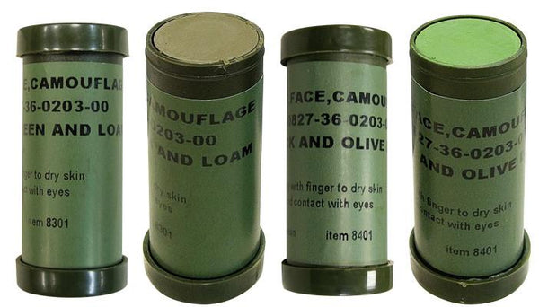 8301 Rothco Nato Woodland Camouflage Face Paint Stick