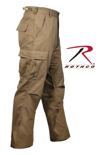 8522 Rothco Tactical BDU Pants - Coyote Brown