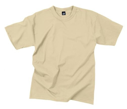 8570 Rothco T-shirt -100% Cotton / Desert Sand