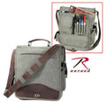 8626 Rothco Olive Drab Vintage M51 Engineers Bag w/Leather Accents