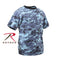 5265 Rothco Kids Digital Camo T-Shirt - Sky Blue Camo