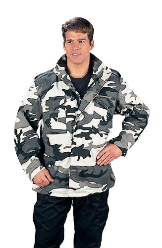 8994 Rothco M-65 Field Jacket W/liner - City Camo, XLarge (AUCTION)