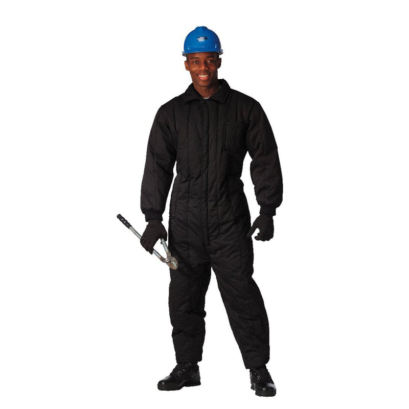 9015 Rothco Mens Insulated Coverall - Black
