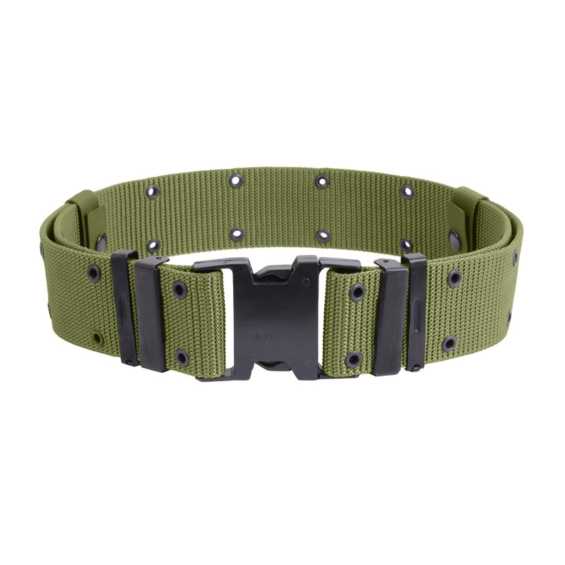 9077 / 9067 / 9026 Rothco Olive Drab New Issue Marine Corps Style Quick Release Pistol Belt