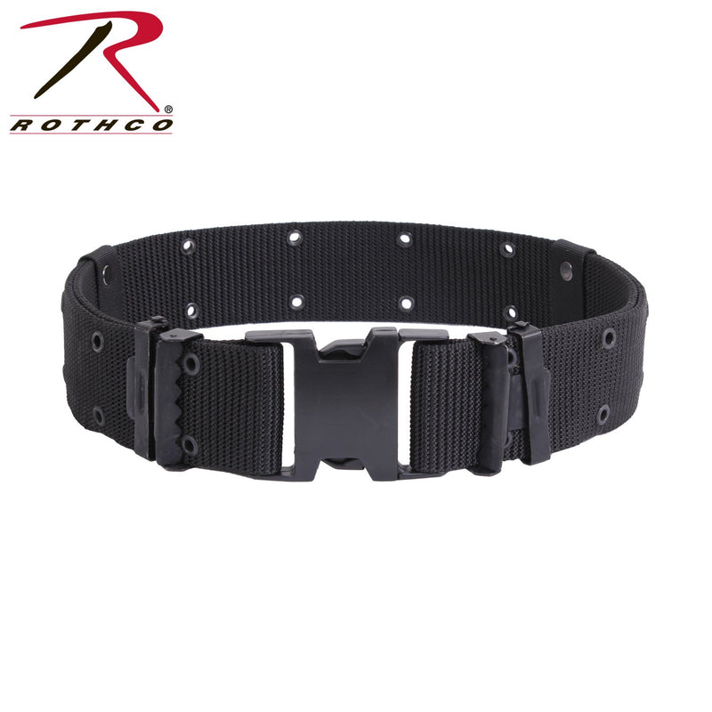 9078 / 9068 / 9027 Rothco Black New Issue Marine Corps Style Quick Release Pistol Belts