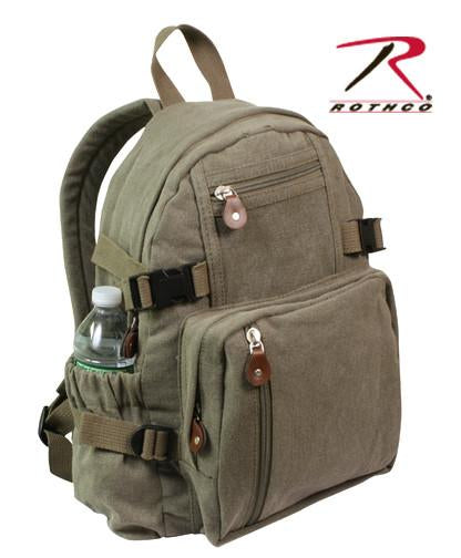 9152 Rothco Vintage Olive Drab Compact Backpack