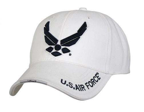 9154 DELUXE WHITE ''NEW WING AIR FORCE'' LOW PRO CAP
