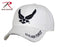 9154 Rothco Air Force White Deluxe Low Profile Insignia Cap