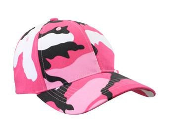 9180 SUPREME LOW PROFILE CAP - PINK CAMO