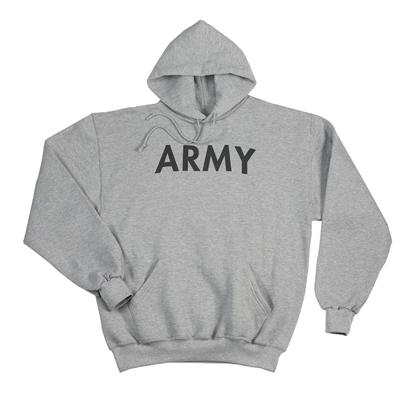 9189 Rothco Army Pullover Hooded Sweatshirt - Grey