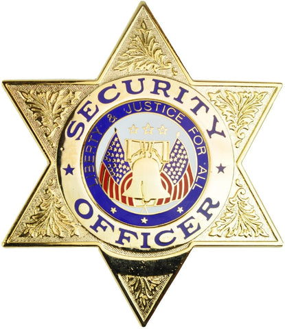 Tactical 365® Operation First Response Security Officer 6 Point Star Badge