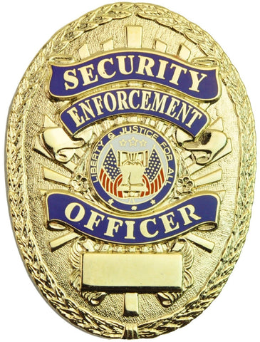 Tactical 365® Operation First Response Security Enforcement Officer Shield Badge