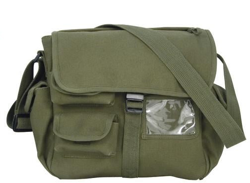 9203 ROTHCO CANVAS URBAN EXPLORER BAG - OLIVE DRAB