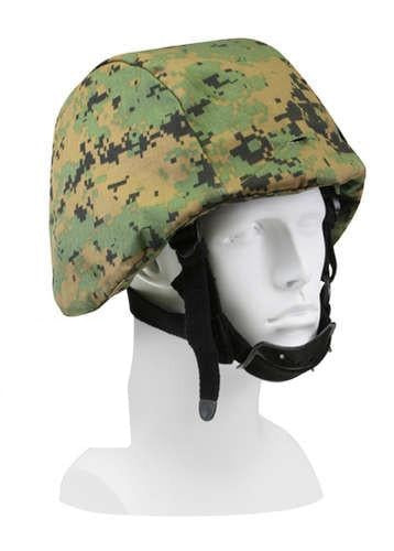 9354 WOODLAND DIGITAL CAMO HELMET COVER
