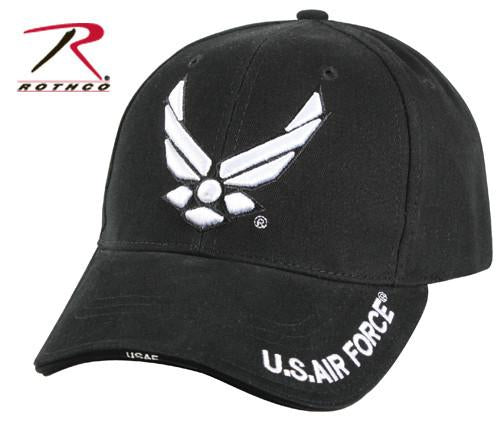 9384 Rothco Air Force Deluxe Low Profile Insignia Cap