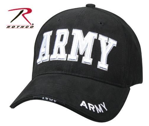 9385 Rothco Army Deluxe Low Profile Insignia Cap