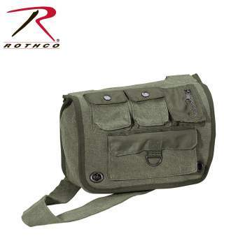 9386 Rothco Classic OD Survivor Shoulder Bag