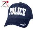 9489 Rothco Deluxe Police Navy Blue Low Profile Insignia Cap