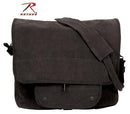 9558 Rothco Vintage Canvas Paratrooper Bag - Black