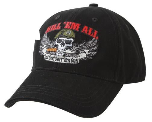 9599 Rothco Deluxe Low Profile Cap / Kill ''em All