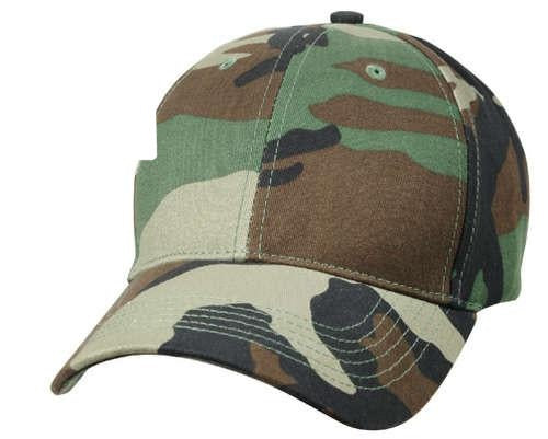 9600 Kids Woodland Camo Supreme Low Profile Cap