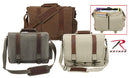 9691 Rothco Vintage Pathfinder Laptop Bags-Brown, Khaki