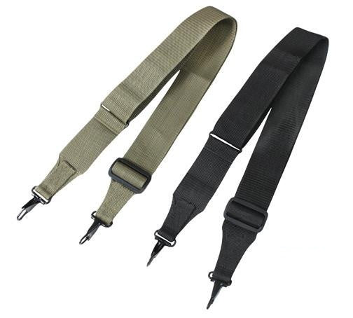 "9725/9752 ROTHCO GI STYLE UTILITY STRAP - EXTRA LONG (55"") - BLACK OR OLIVE DRAB"