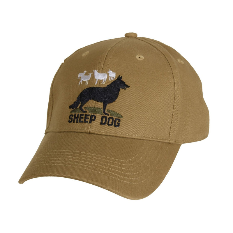 9819 Rothco Sheep Dog Deluxe Low Profile Cap - Coyote Brown