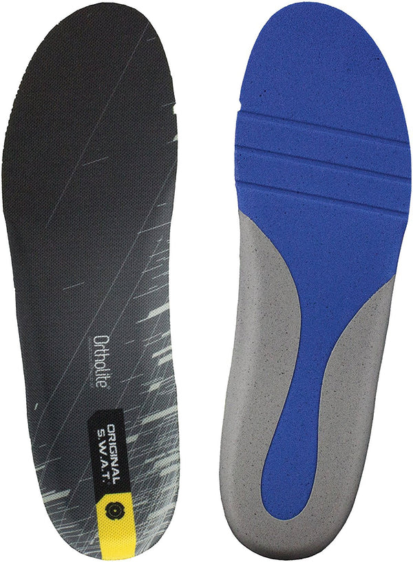 Original S.W.A.T. Men's Ortholite Action Fit Insole - Black
