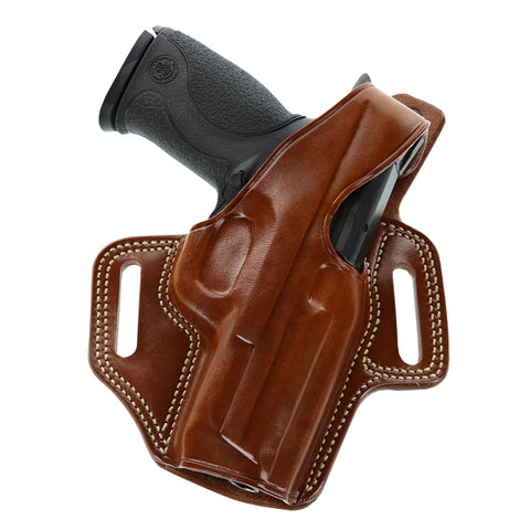 Galco Fletch High Ride Belt Holster for 1911 5-Inch Colt, Kimber, Para, Springfield (Right-hand)