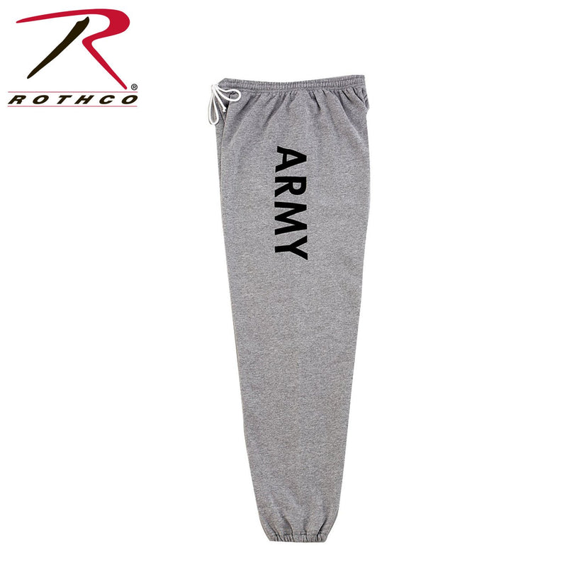 2085 Rothco Physical Training Army Sweatpants - Grey