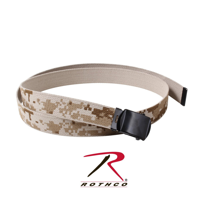 4682 Rothco Desert Digital Camo/Tan Reversible Web Belts