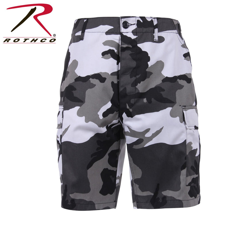 65215 Rothco BDU Shorts Poly/cotton - City Camo