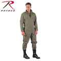 7508 Rothco Khaki Long Sleeve Flightsuits