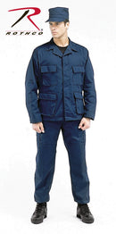 7896 Rothco Tactical BDU Pants - Navy Blue - Long Length