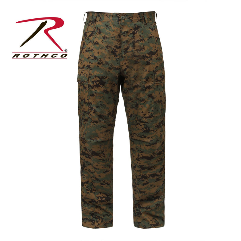 8675 Rothco Woodland Digital Camo B.D.U. Pants