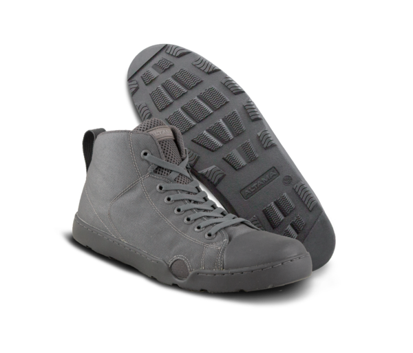 Altama OTB Maritime Assault Fin Friendly Operators Boots - Gray Mid Top