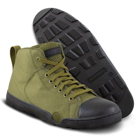 Altama OTB Maritime Assault Fin Friendly Operators Boots - Olive Drab Mid Top