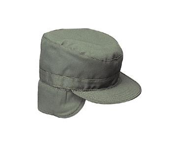 5712 Rothco G.I. Type Olive Drab Combat Cap W/Earflaps